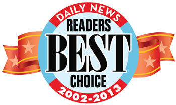 Daily News Readers Choice 2002-2013