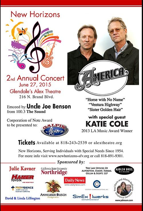 New Horizons Concert by America