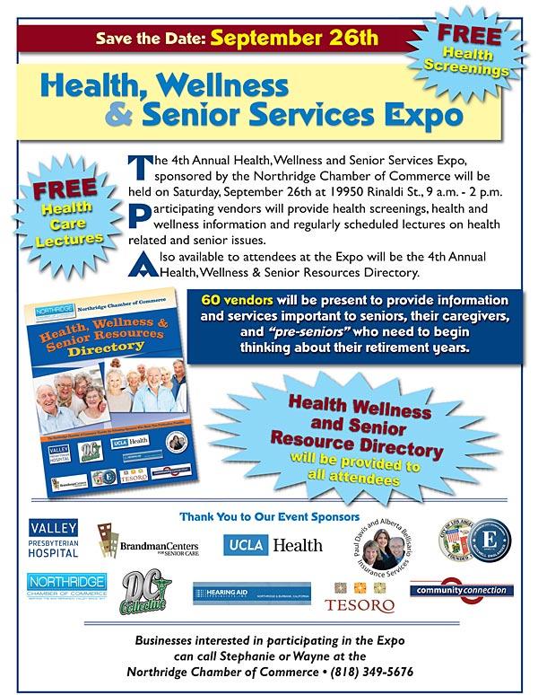 Senior Expo September 26, 2015