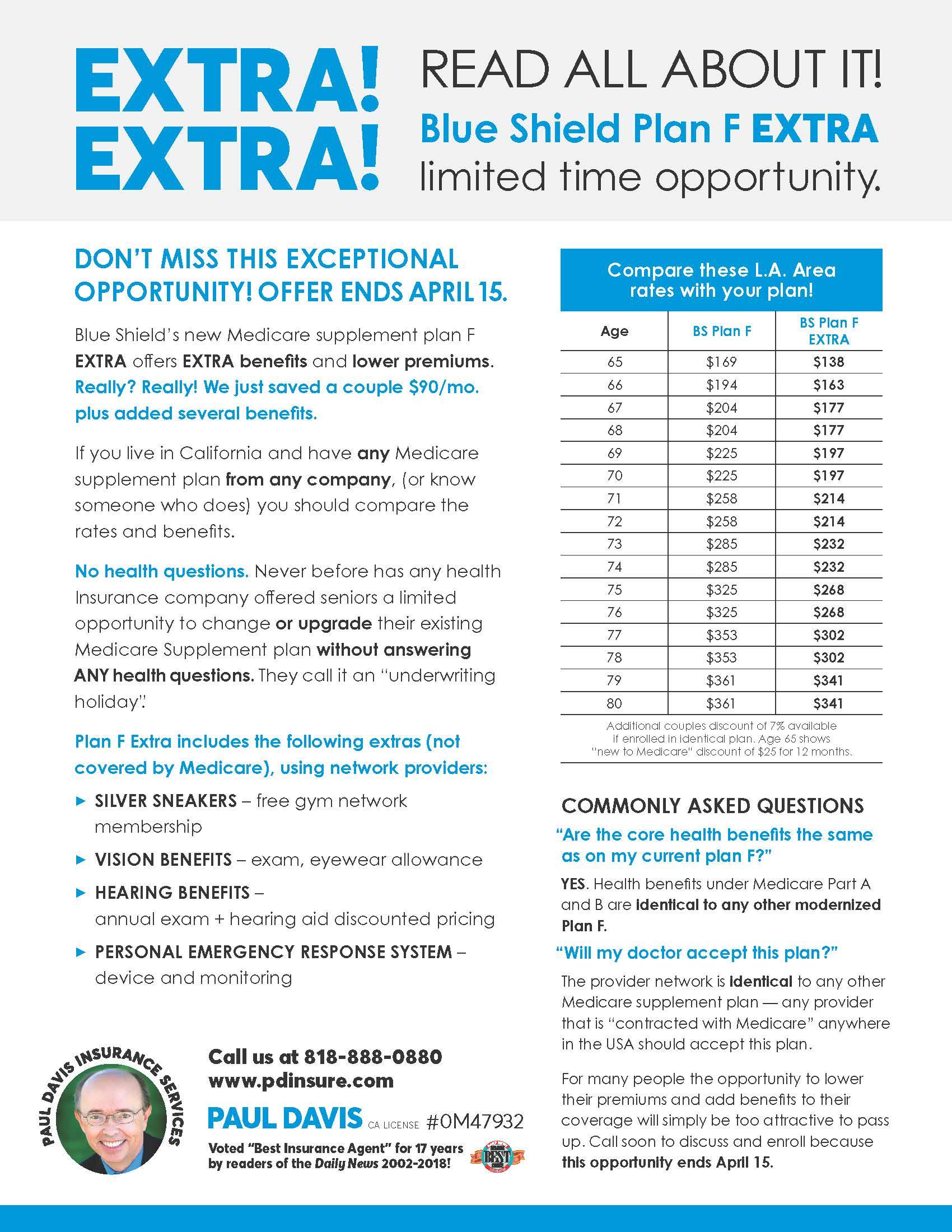Blue Shield Extra Medicare EXTRA