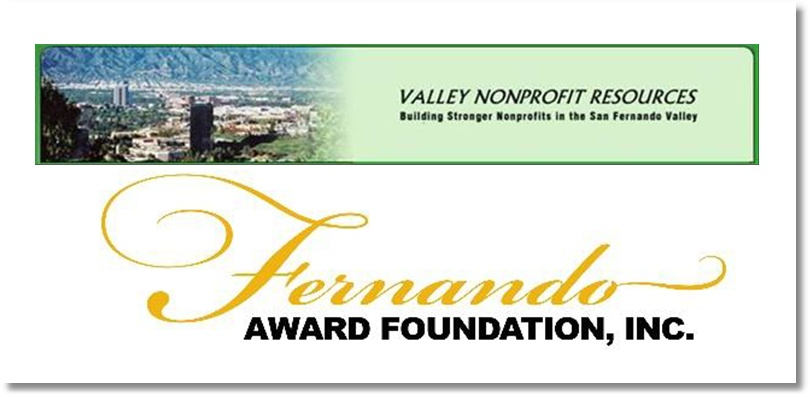 Valley Nonprofit Resources & Fernando Awards Logos