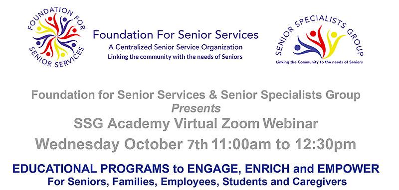 SSG Academy Zoom Webinar