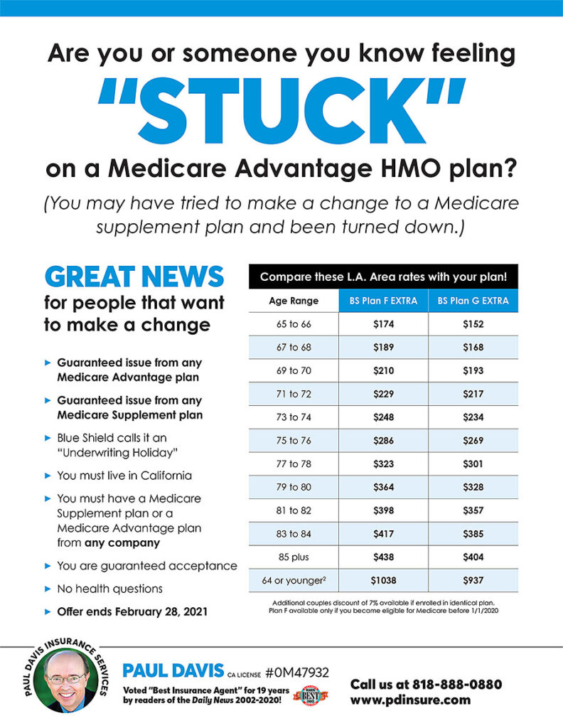 Are you stuck in a Medicare HMO Plan?